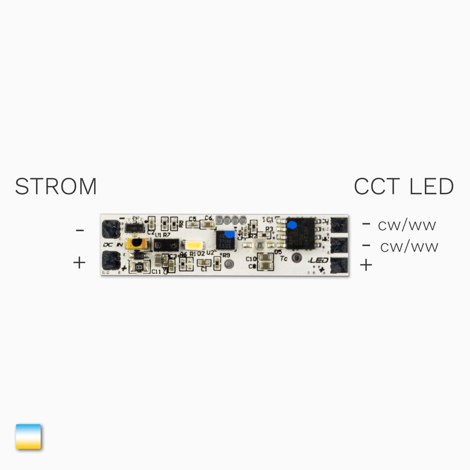 CCT LED Profil-Dimmer